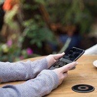 Powermat charging spot and app