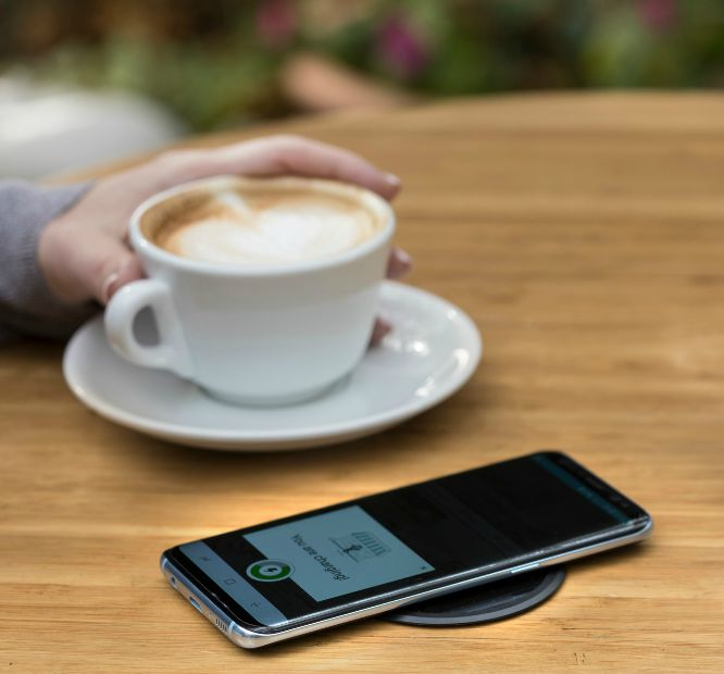 Powermat wireless charging technology in Samsung Galaxy Note9